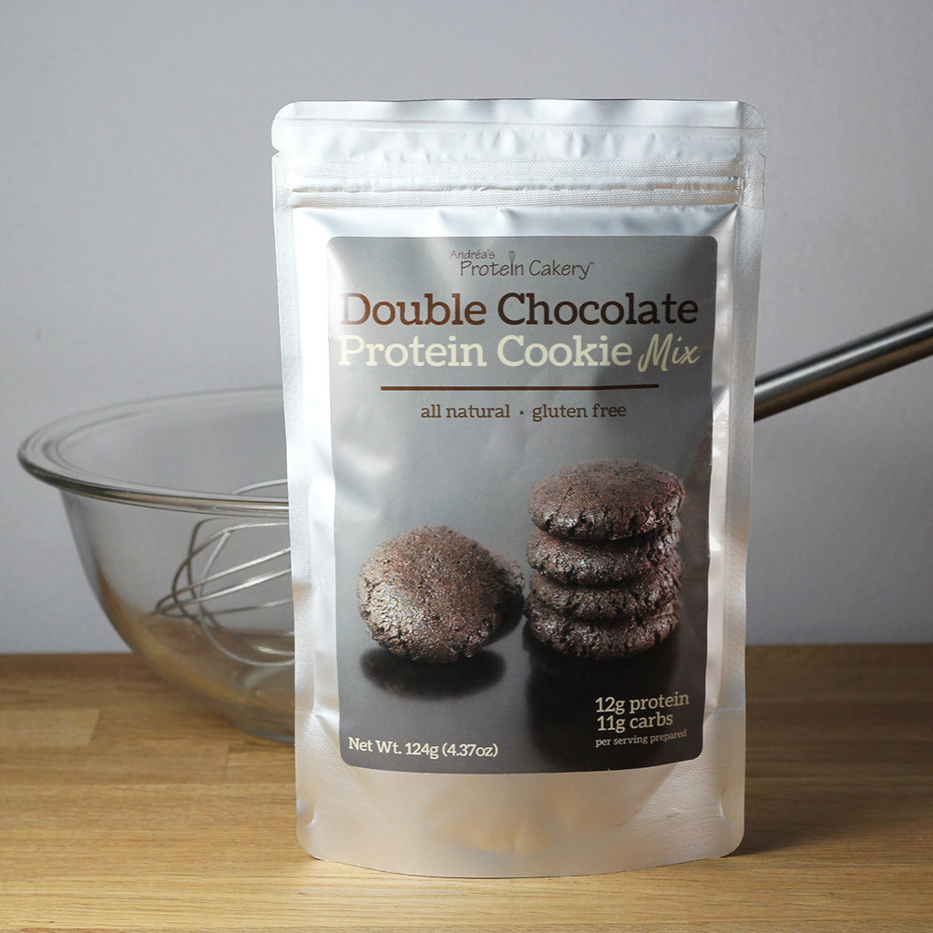 Double Chocolate Protein Cookie Mix - Gluten Free