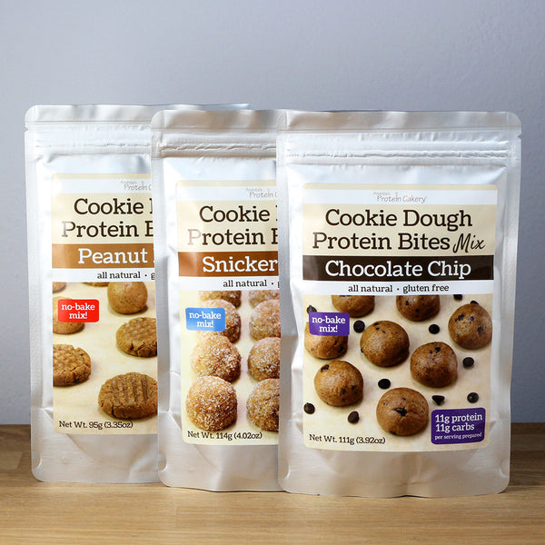 Gift Bundle - Sampler - Cookie Dough Protein Bites Mixes