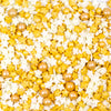 Natural Sprinkles - Gold and White Star Party