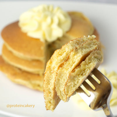 Recipe - Lemon Protein Pancakes