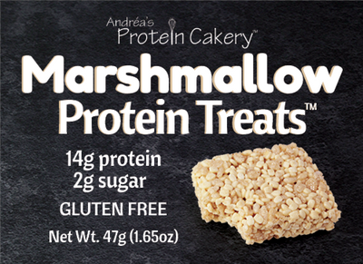 Marshmallow Protein Treats (TM) - Gluten Free