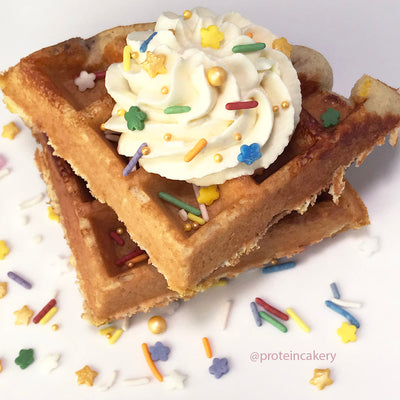 Recipe - Protein Cake Waffles