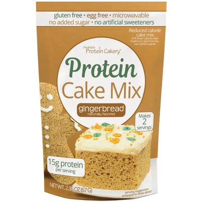 Protein Cake Mix - Gingerbread