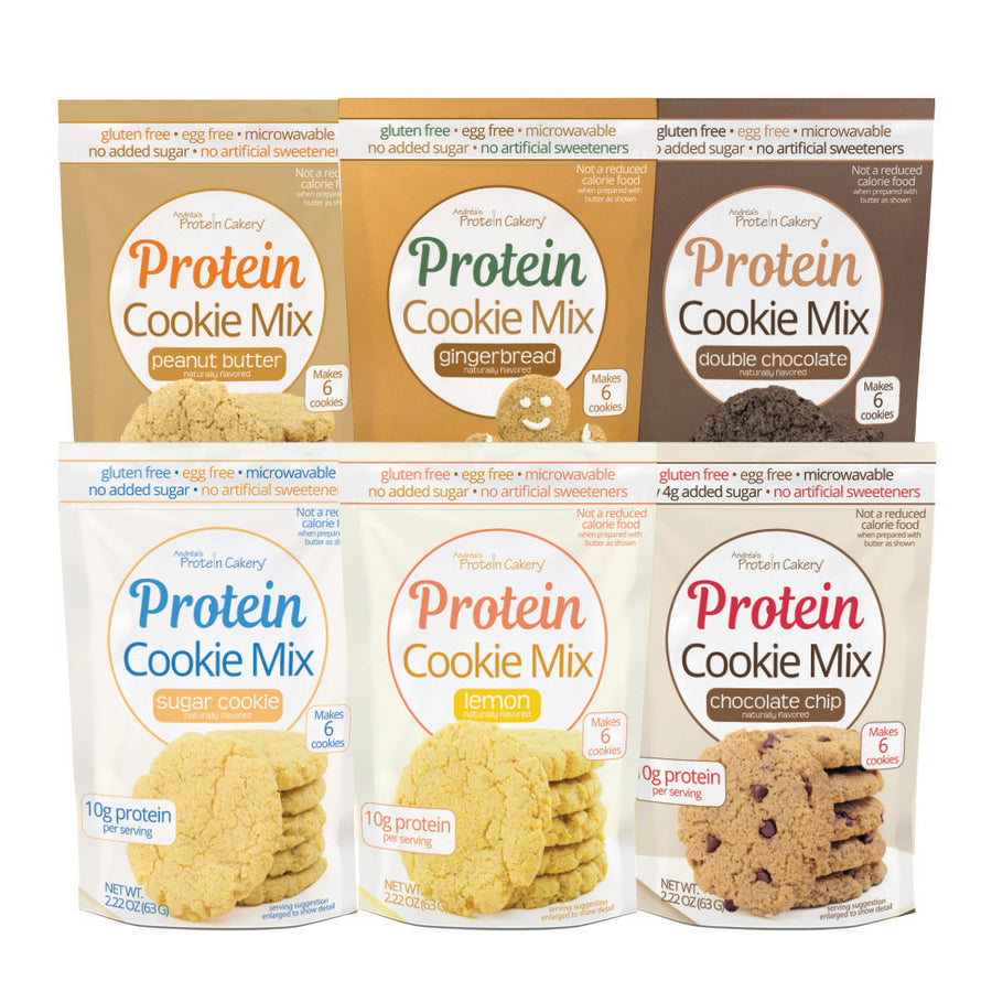 Protein Cookie Mix - All Flavors