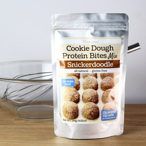 Snickerdoodle Cookie Dough Protein Bites Mix - Gluten Free