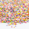 Natural Sprinkles - Rainbow Pearl Nonpareils