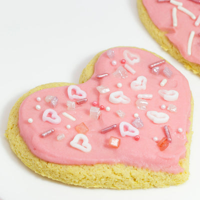 Recipe - Strawberry Frosted Sugar Cookies
