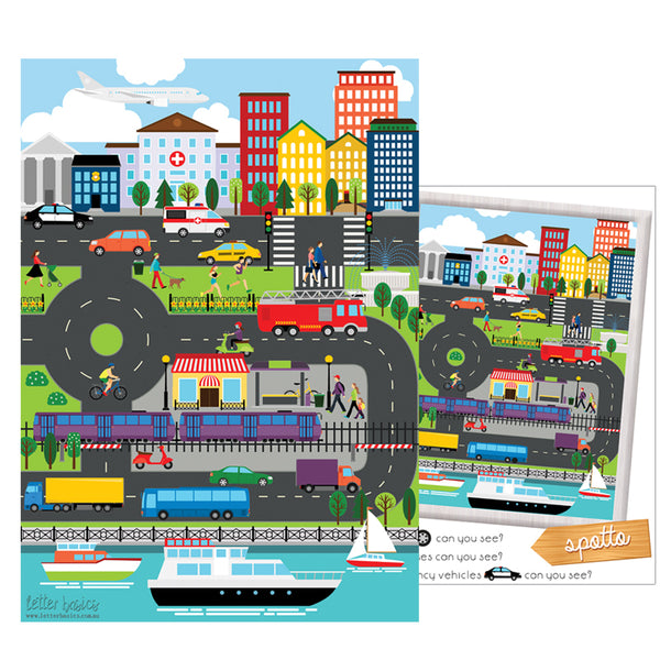 AD03. Transport Activity Mat - Digital Download