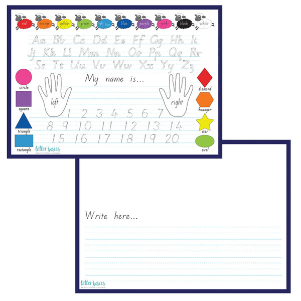 HWD01. Kindy Reference Guide with dotted thirds - Digital Download