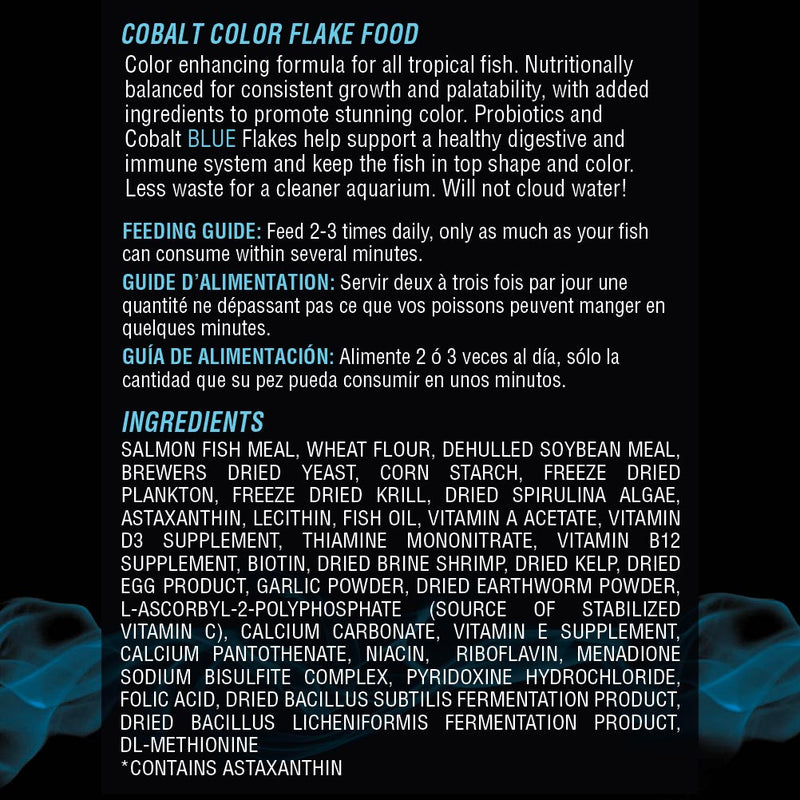 Color Flake Ingredients