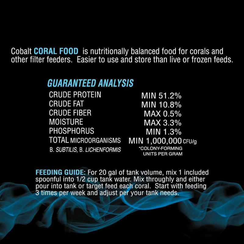 Coral Food Powder Analysis