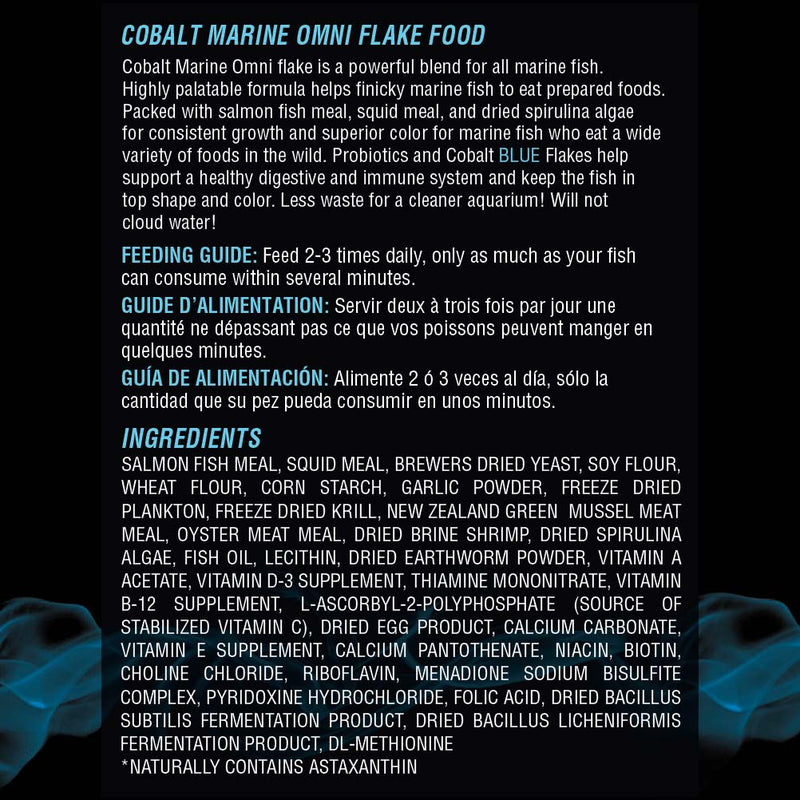 Marine Omni Flake Ingredients