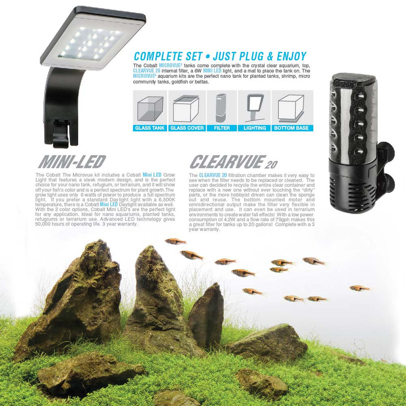 Microvue3 Aquarium Kit