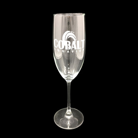 Cobalt Champagne Glass