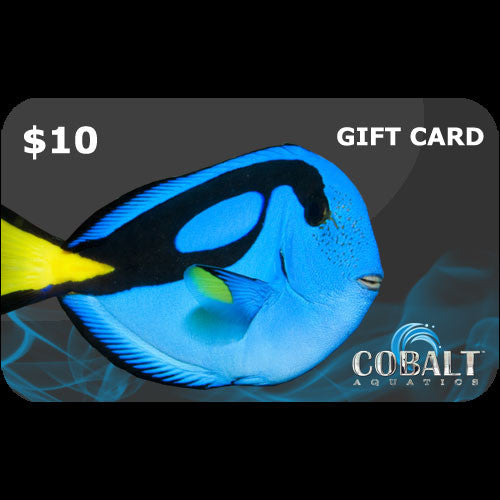 Cobalt Aquatics Gift Card $10
