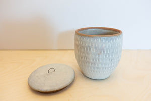 Made-to-order Stoneware Jar dash