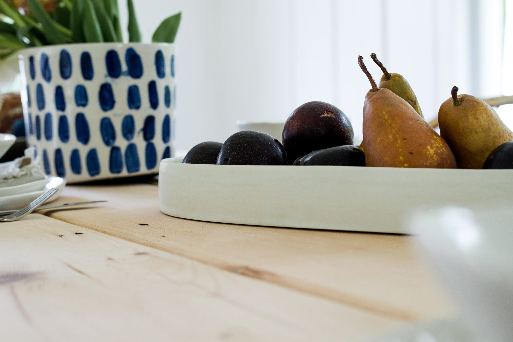 Fruit Bowl White