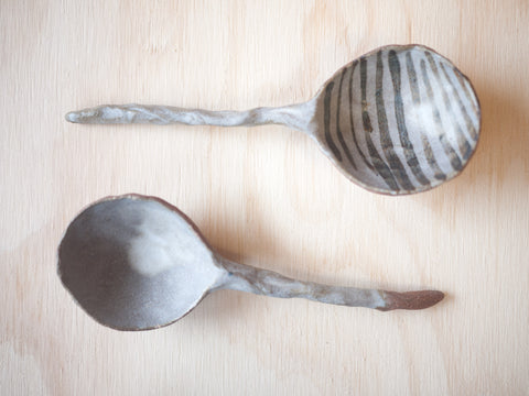 Grey Long Spoon