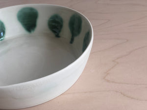 Porcelain Serving bowl small