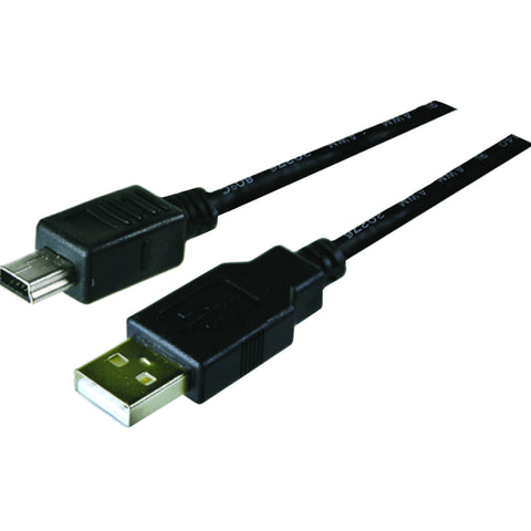 Arista 3.0 Superspeed USB Cable Type A to Mini B 5 Pin 3 ft. Black ...