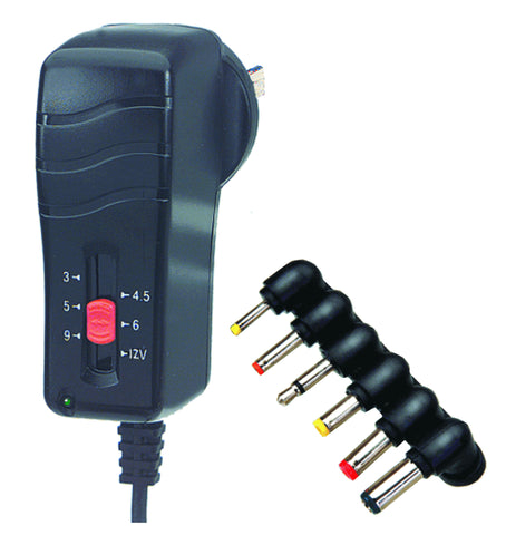 Regulated Universal AC to DC Adapter