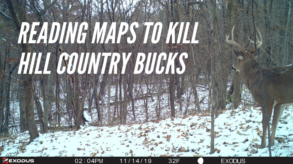 How To Read Topo Maps: The First Step to Become a Better Deer Hunter in Hill Country