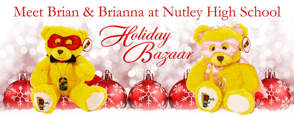 Brian and Brianna appearing at Nutley High School Gift Show
