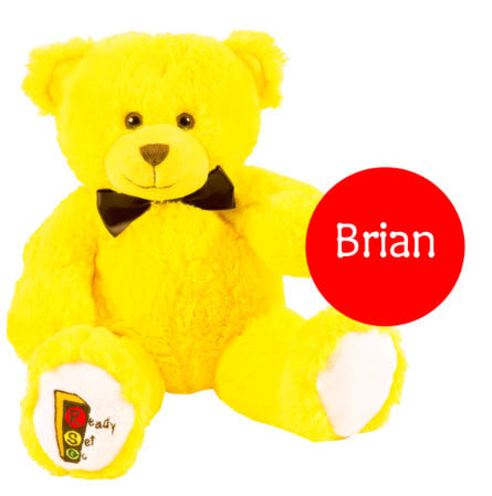 Brian the Ready Set Go Plush Bear