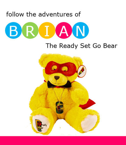 The Adventures of Brian the Ready Set Go Superhero Bear Booklet