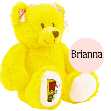 Brianna the Ready Set Go Plush Bear