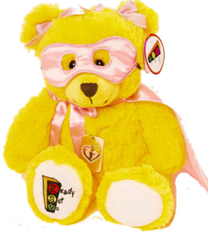 Brianna the Superhero Bear Complete Play Therapy Package with Choice of Pendant