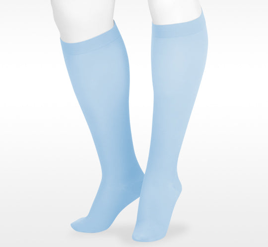 Juzo Soft 2000 Knee High Full Foot Short Silicone Band 15-20 mmHg Trend colors