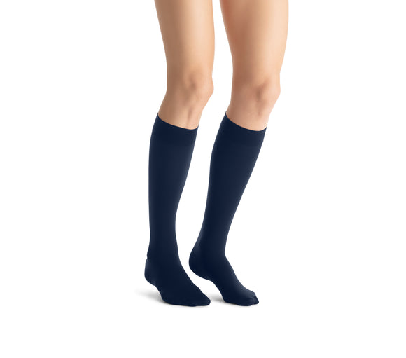 Jobst Opaque 20-30 mmHg Closed Toe Knee Women's Compression Stockings