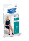 Jobst UltraSheer 20-30 mmHg Closed Toe Diamond Pattern Dot Band Thigh High Women's Compression Stockings