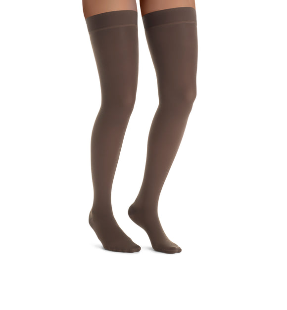 Jobst Ultrasheer Thigh Highs 15-20 mmHg Lace Silicone Top Band