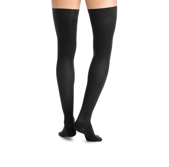 Jobst UltraSheer 20-30 mmHg Closed Toe Petite Lace Band Thigh High Women's Compression Stockings