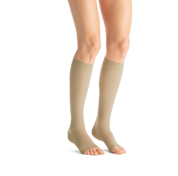 Jobst UltraSheer 30-40 mmHg Open Toe Knee High Women's Compression Stockings