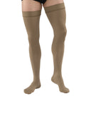 Jobst for Men Thigh 15-20 mmHg Closed Toe Compression Socks