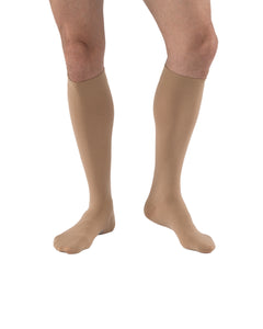 JOBST Relief Compression Knee High Socks, 30-40 mmHg Firm Support for Leg Pain Relief , Closed Toe