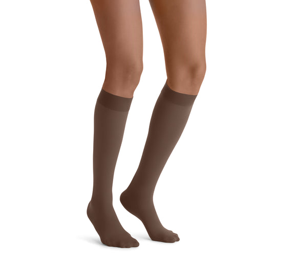 Jobst Opaque 15-20 mmHg Closed Toe Knee Women's Compression Stockings