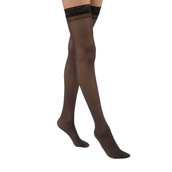 Activa by Jobst- UltraSheer 9-12 mmHg Lace Top Thigh High