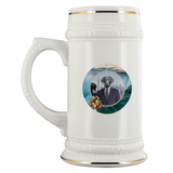 Frankie Black Labrador Beer Stein - The Green Gypsie