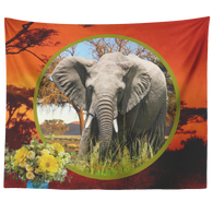 Emma Elephant Tapestry - The Green Gypsie