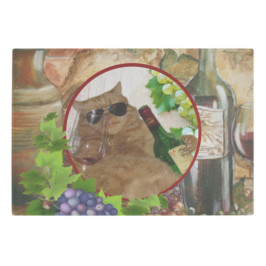Kitty Cat Cutting Board - The Green Gypsie