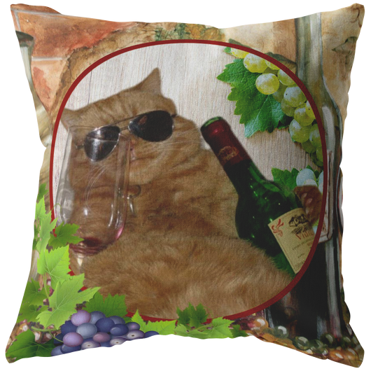 Kitty Cat Pillow - The Green Gypsie