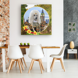 Polly Poodle Canvas