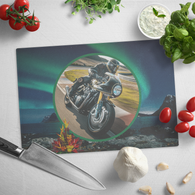 Motorcycle Cutting Board - The Green Gypsie