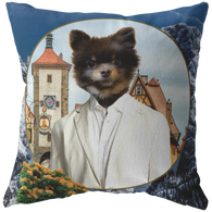 Cory Pomeranian Pillow - The Green Gypsie