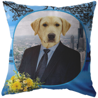 Louie Labrador Retriever Pillow - The Green Gypsie