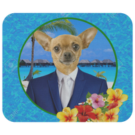 Chico Beach Chihuahua Mouse Pad
